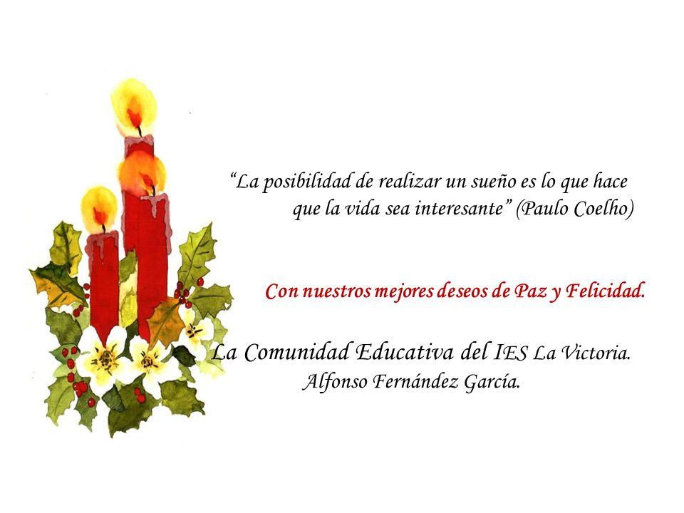 La Comunidad Educativa del IES La Victoria.