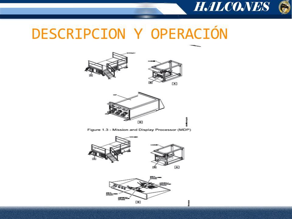 DESCRIPCION Y OPERACIÓN