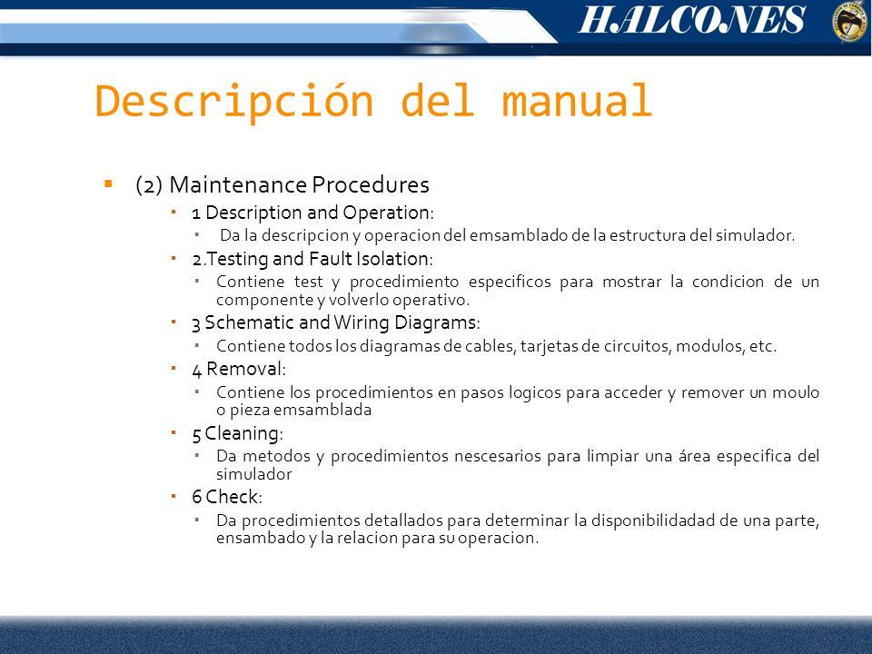 Descripción del manual