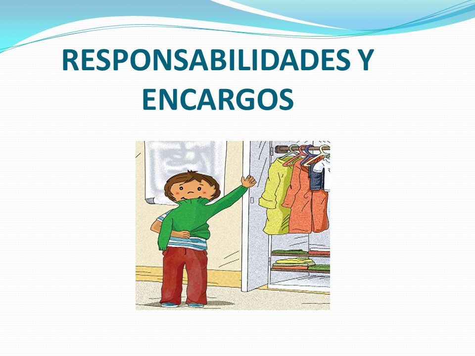 RESPONSABILIDADES Y ENCARGOS