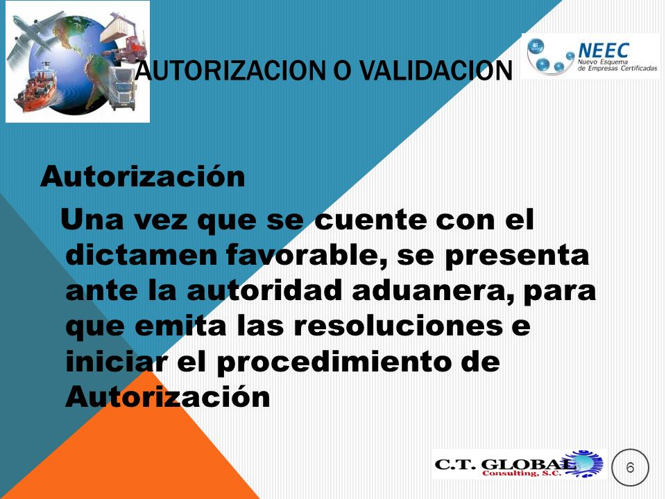 Autorizacion o validacion