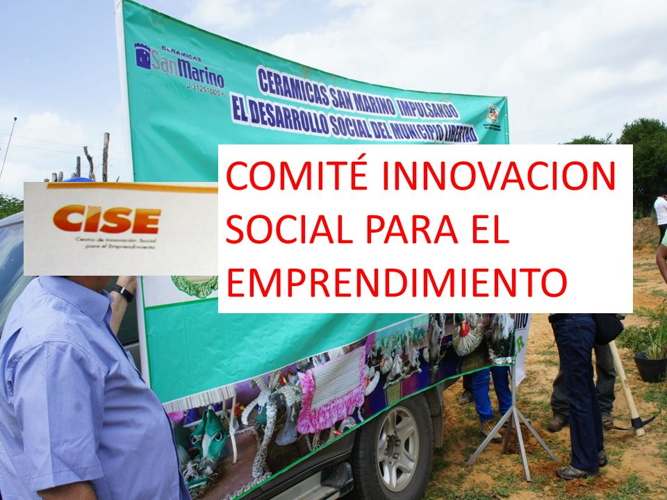 COMITÉ INNOVACION SOCIAL PARA EL EMPRENDIMIENTO