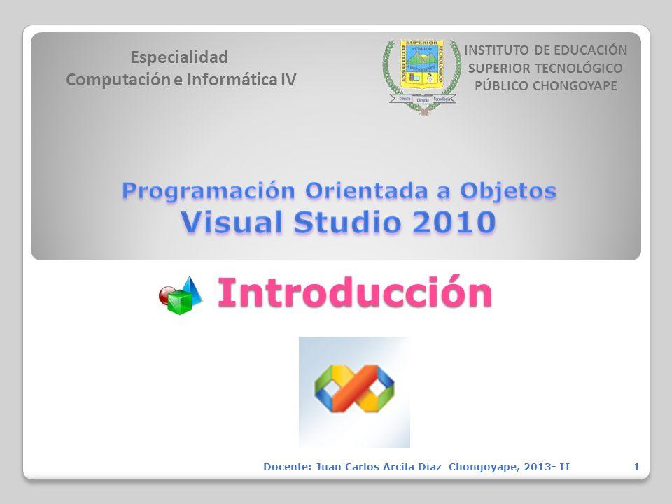 Especialidad Computación e Informática IV