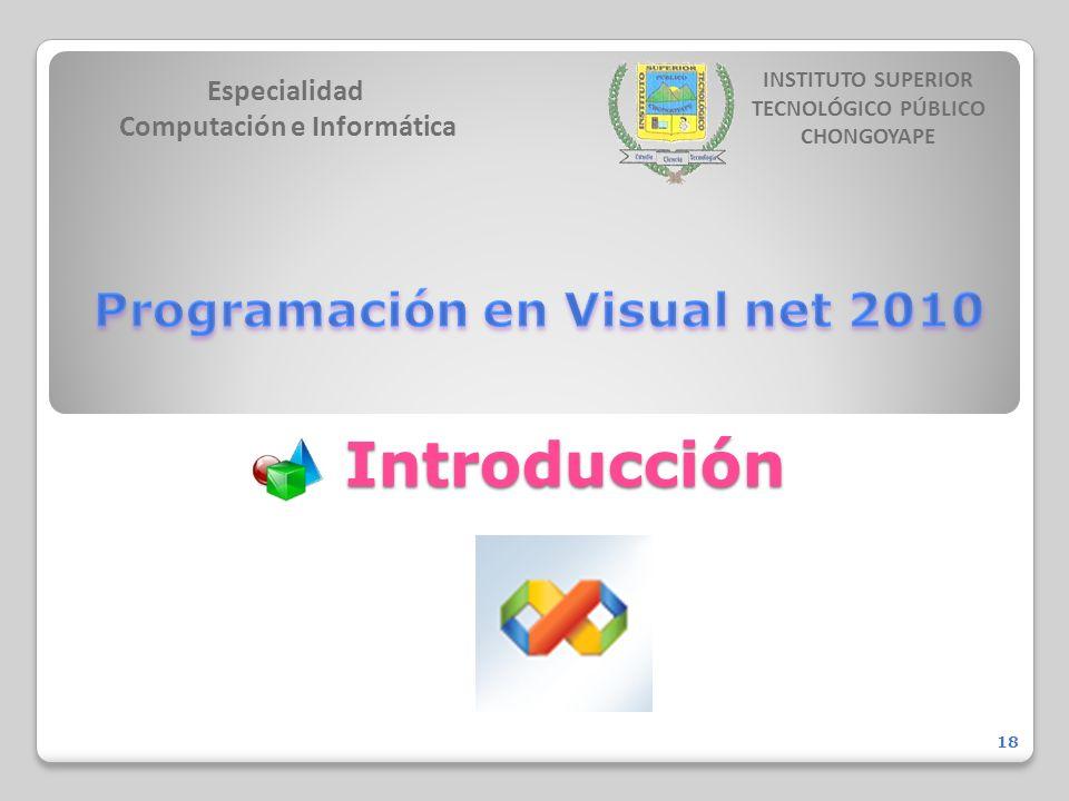 Especialidad Computación e Informática