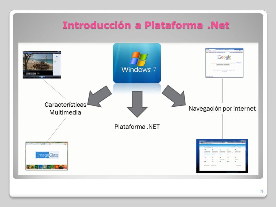 Introducción a Plataforma .Net