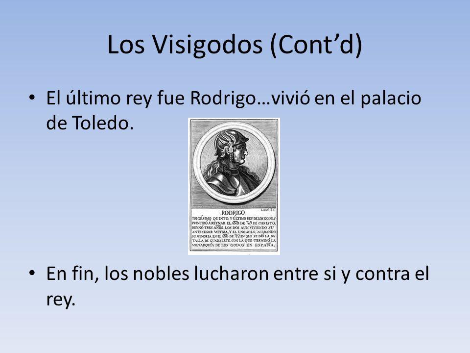 Los Visigodos (Cont'd)