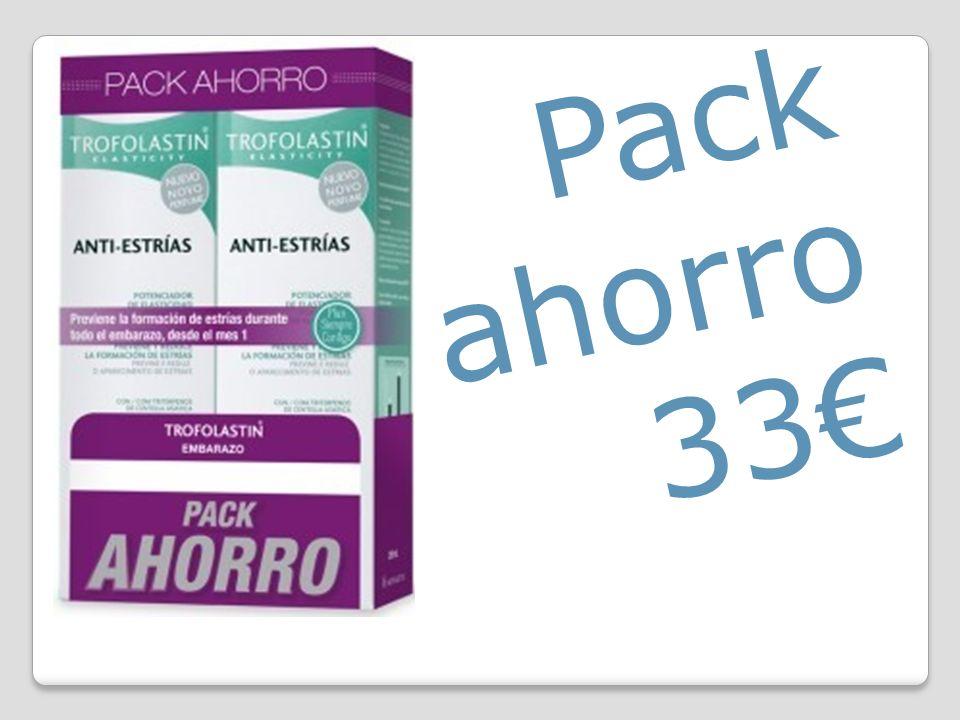 Pack ahorro 33€
