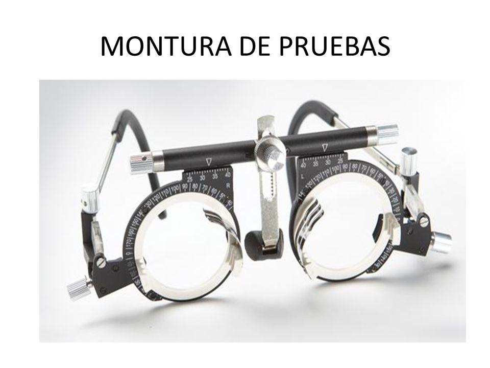 MONTURA DE PRUEBAS