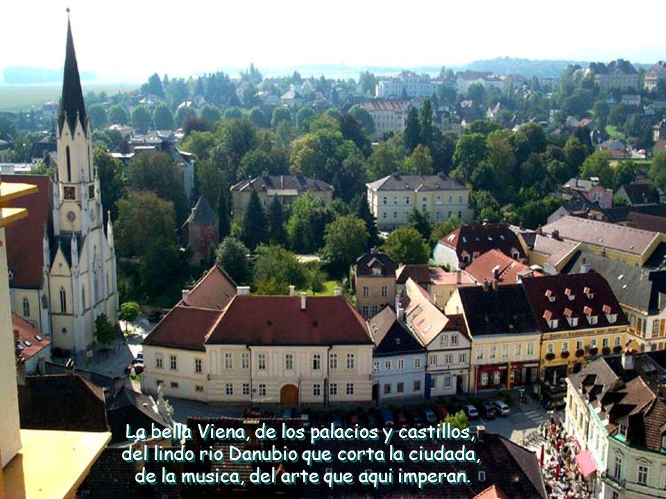 La bella Viena, de los palacios y castillos,