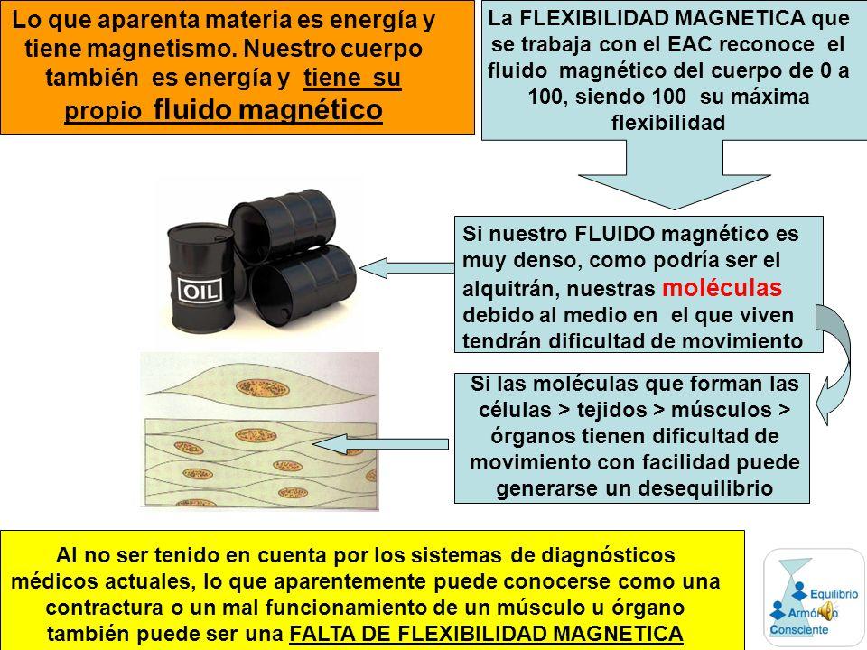 Lo que aparenta materia es energía y tiene magnetismo