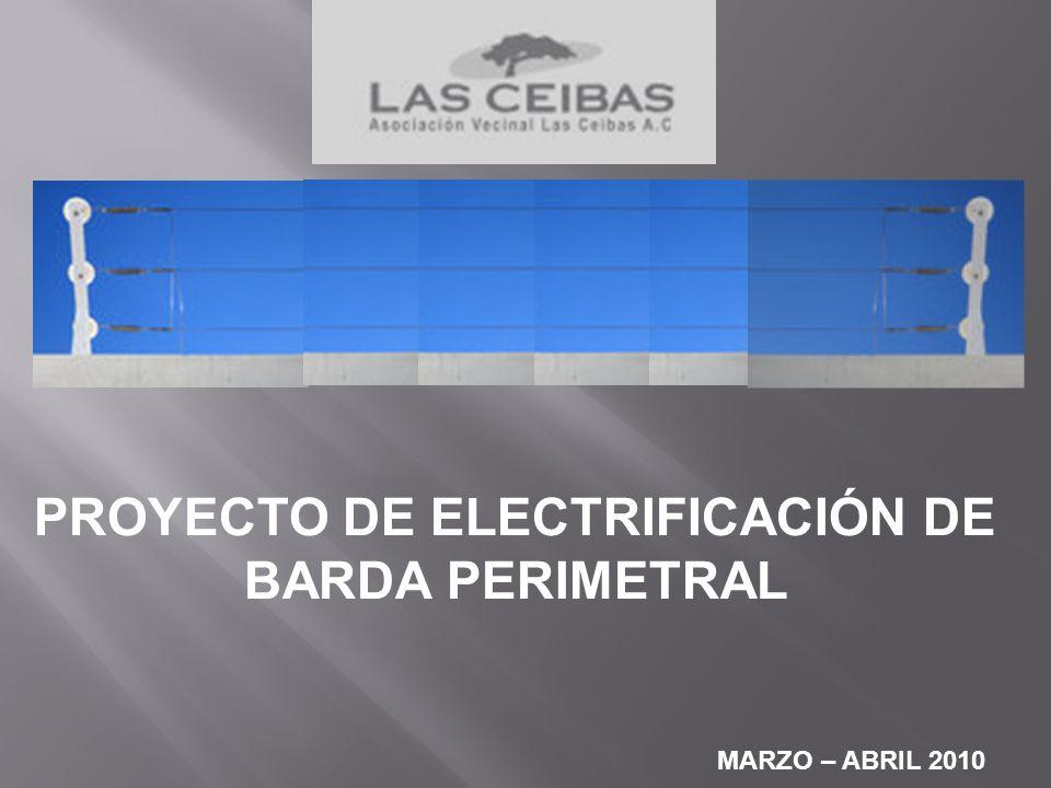 PROYECTO DE ELECTRIFICACIÓN DE