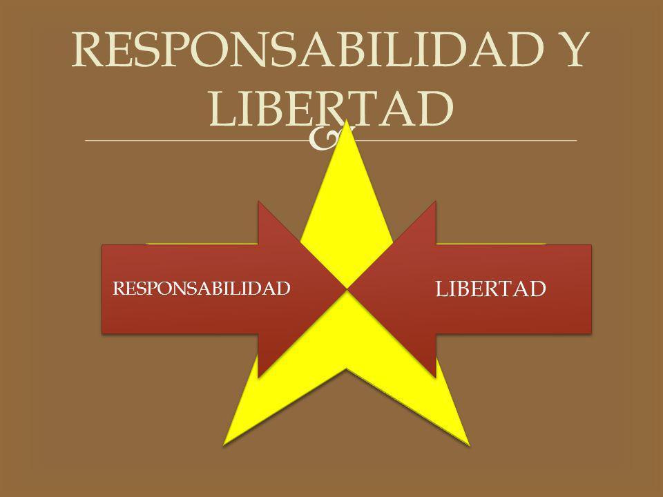 RESPONSABILIDAD Y LIBERTAD