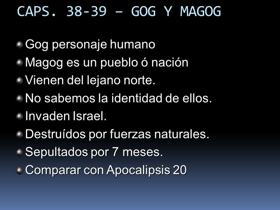 CAPS. 38-39 – GOG Y MAGOG Gog personaje humano