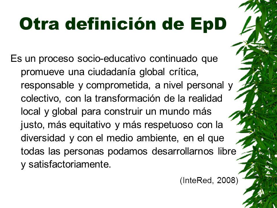 Otra definición de EpD