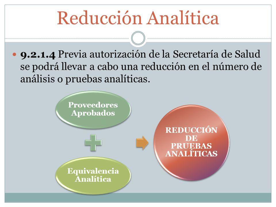 Reducción Analítica
