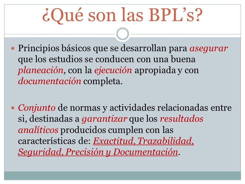 ¿Qué son las BPL's