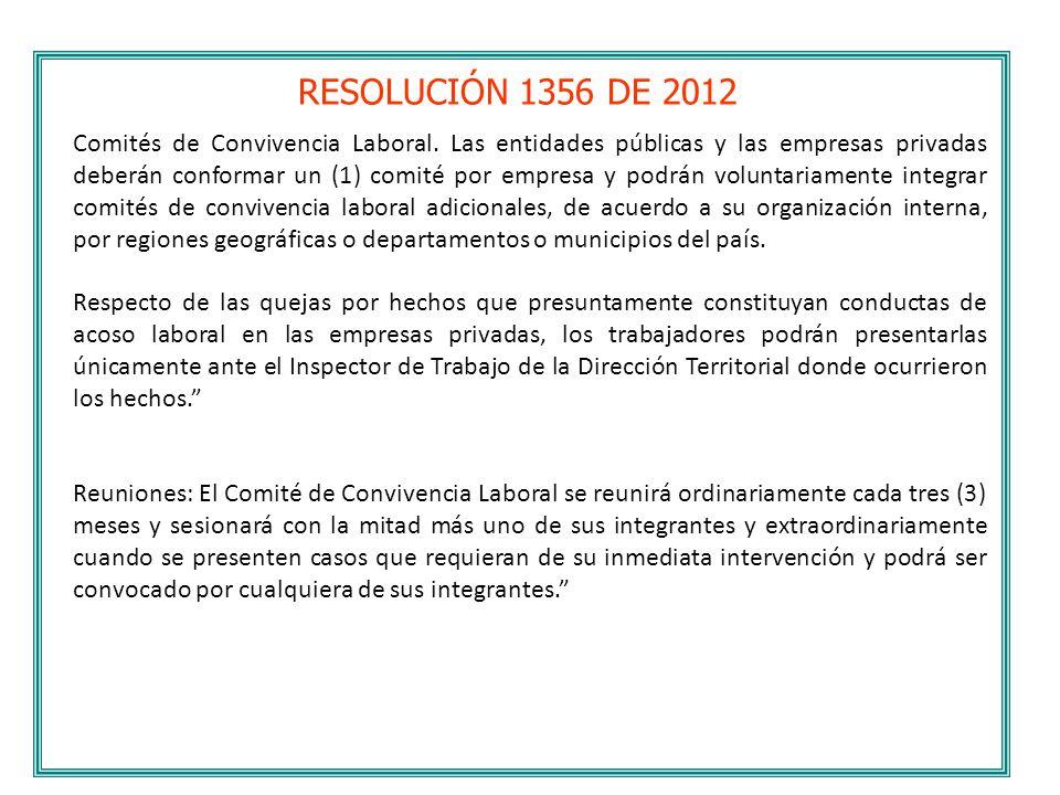 RESOLUCIÓN 1356 DE 2012