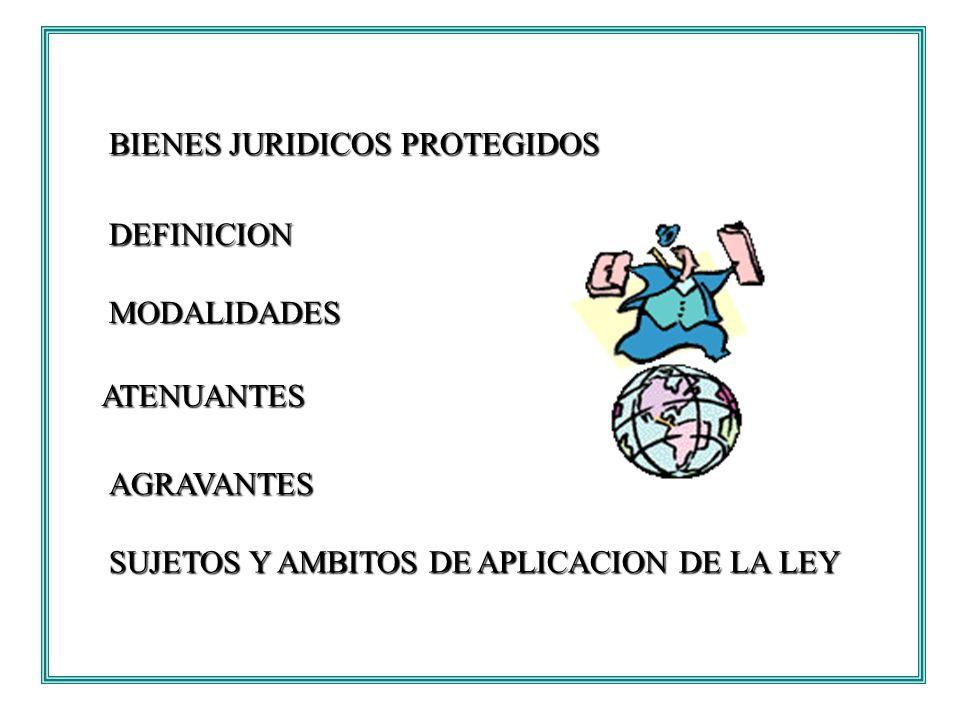 BIENES JURIDICOS PROTEGIDOS