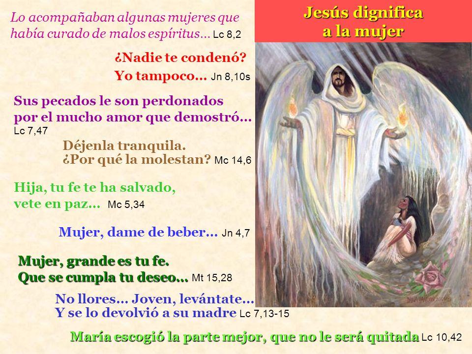 Jesús dignifica a la mujer