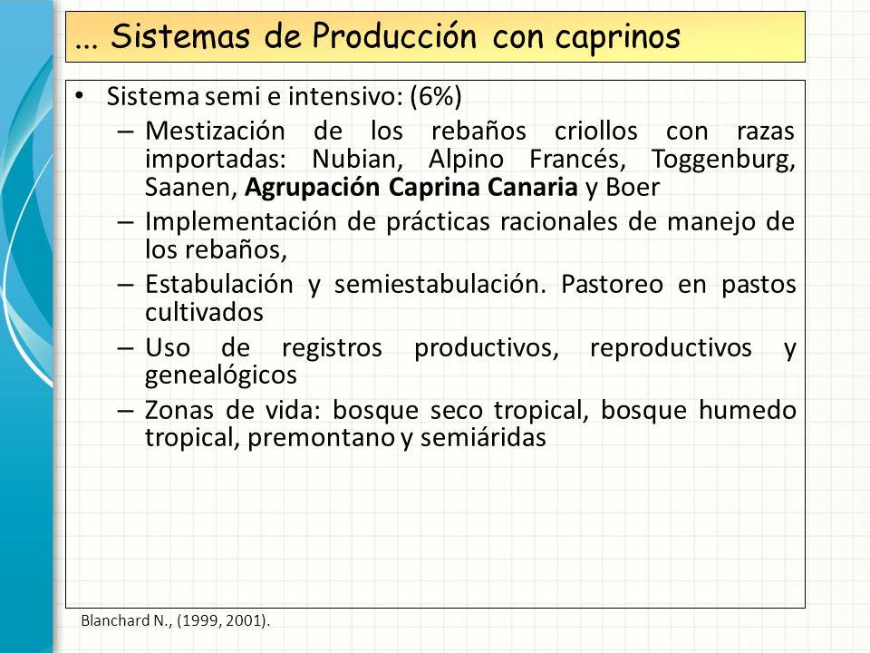 ... Sistemas de Producción con caprinos