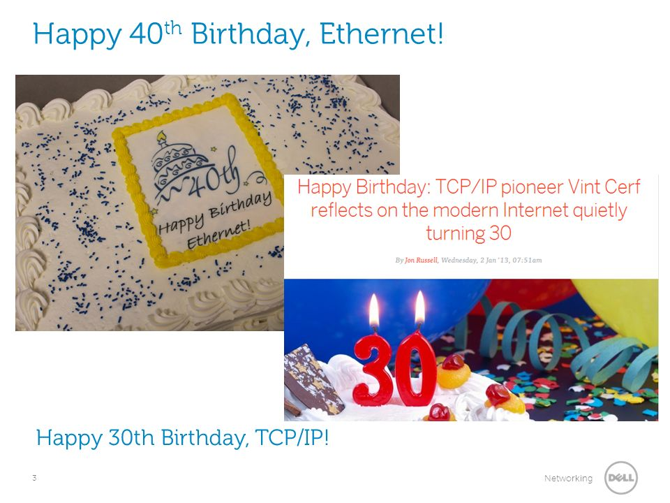 Happy 40th Birthday, Ethernet!