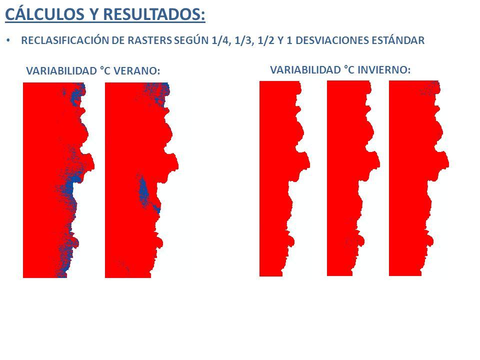CÁLCULOS Y RESULTADOS: