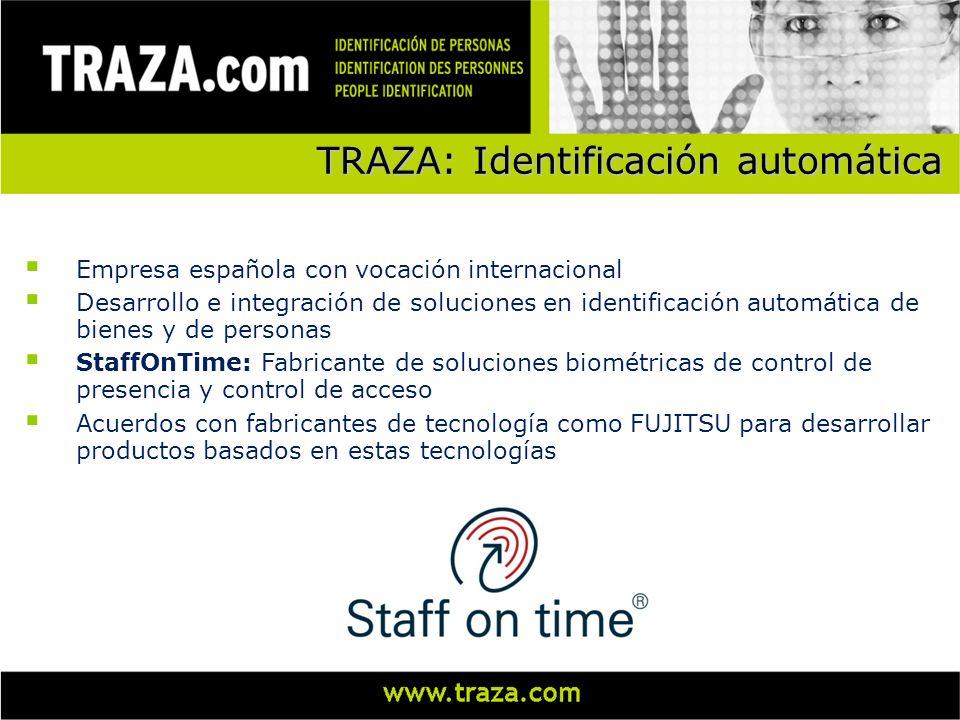 TRAZA: Identificación automática