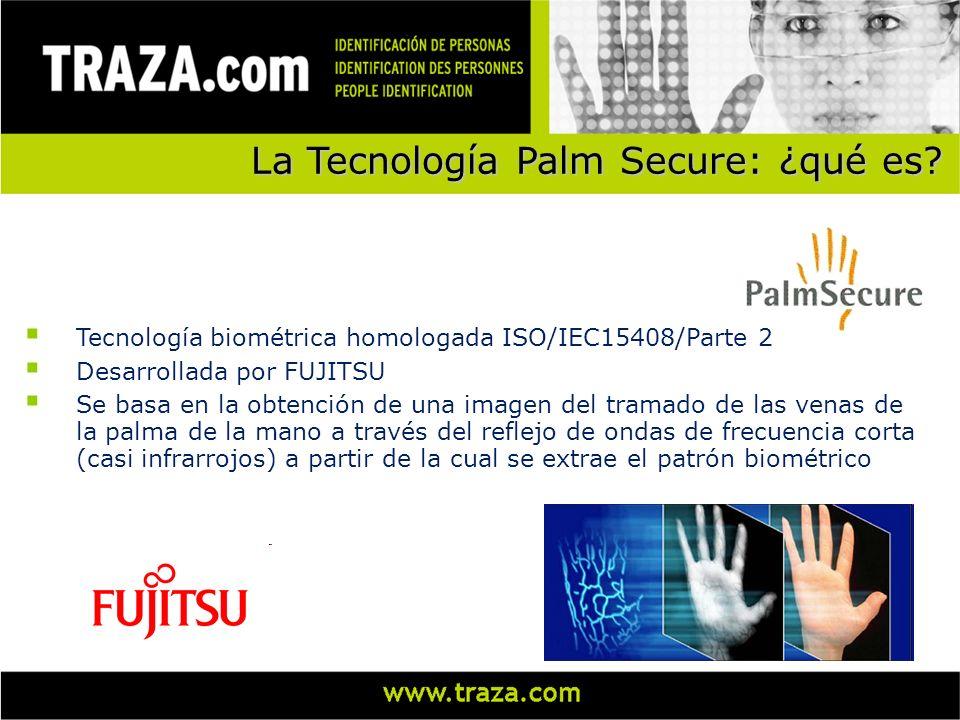 La Tecnología Palm Secure: ¿qué es