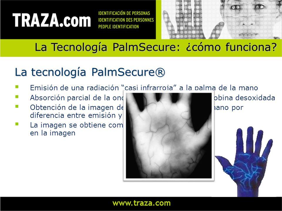 La Tecnología PalmSecure: ¿cómo funciona