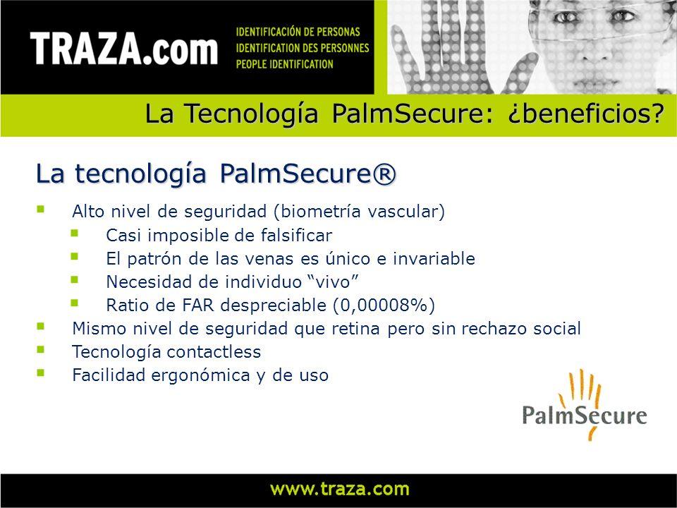 La Tecnología PalmSecure: ¿beneficios