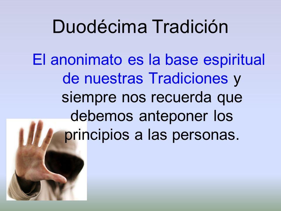 Duodécima Tradición
