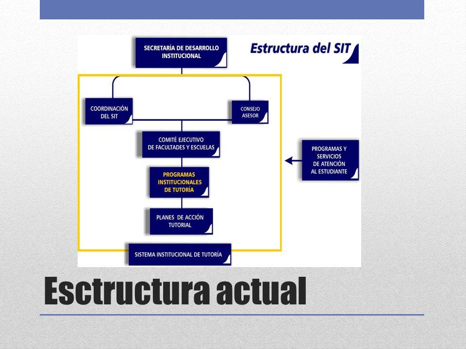 Esctructura actual