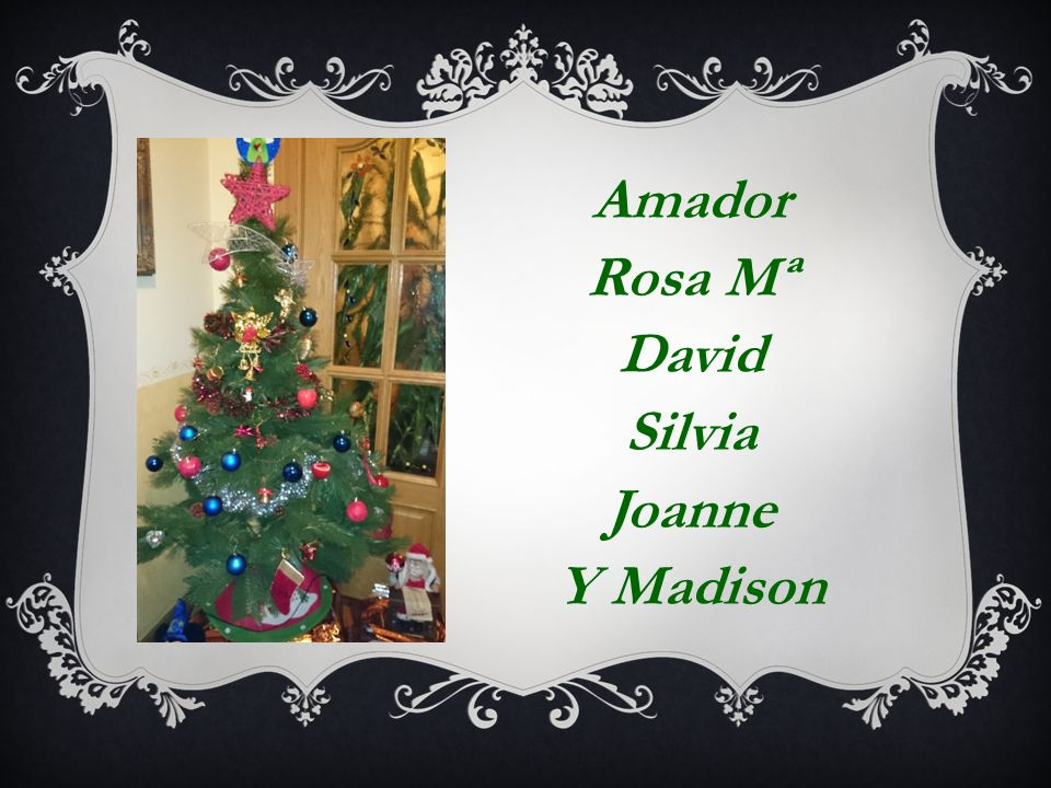 Amador Rosa Mª David Silvia Joanne Y Madison