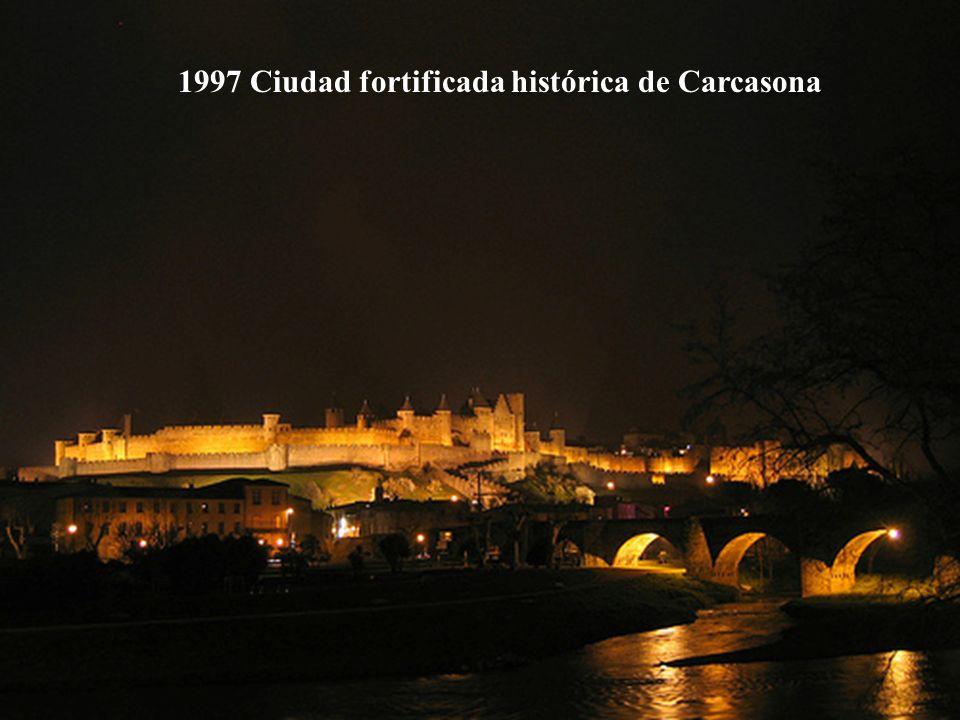 1997 Ciudad fortificada histórica de Carcasona