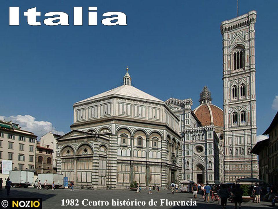 Italia 1982 Centro histórico de Florencia