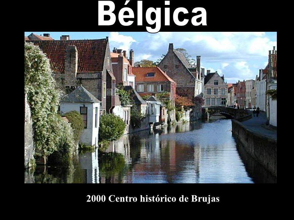 Bélgica 2000 Centro histórico de Brujas