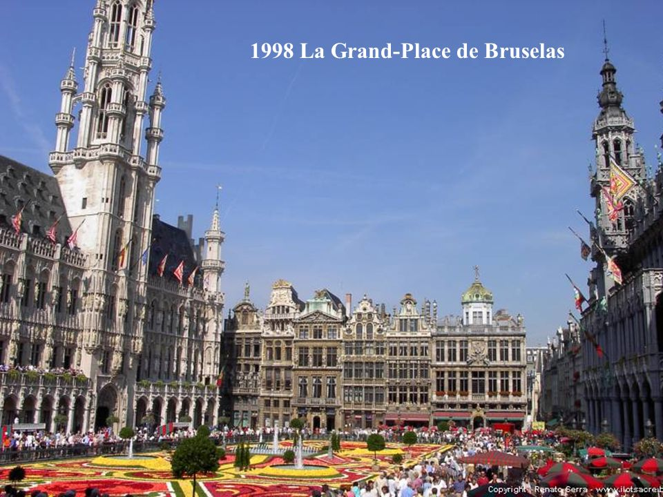 1998 La Grand-Place de Bruselas