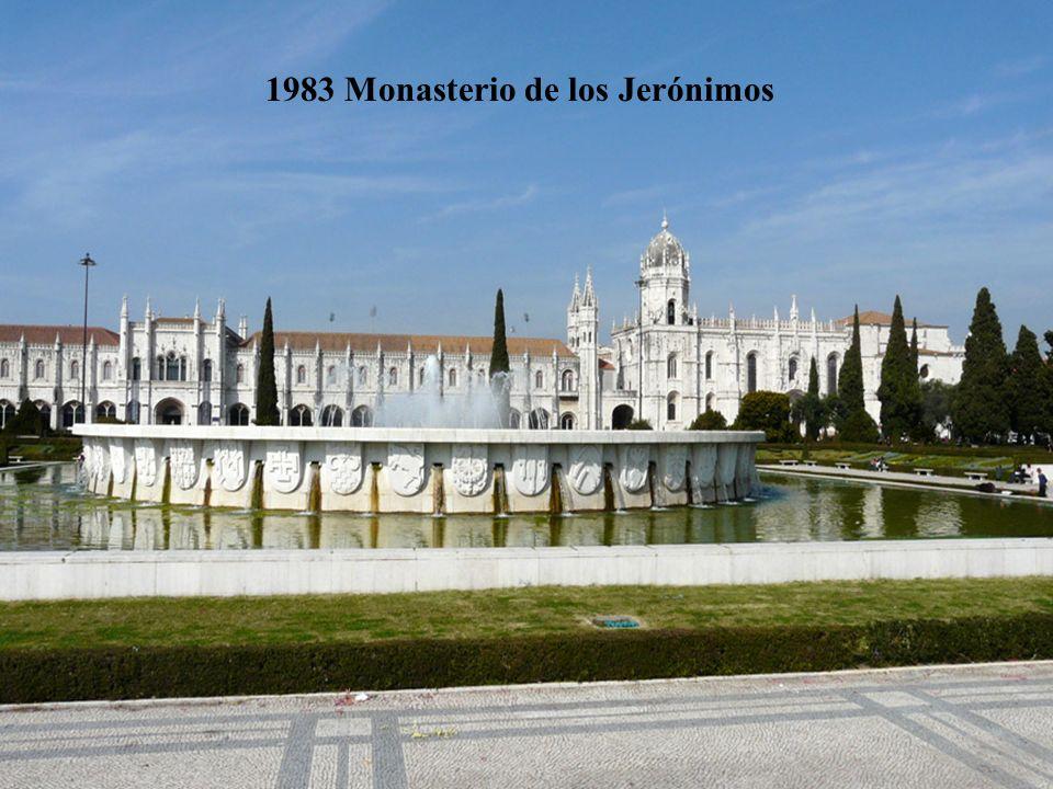 1983 Monasterio de los Jerónimos
