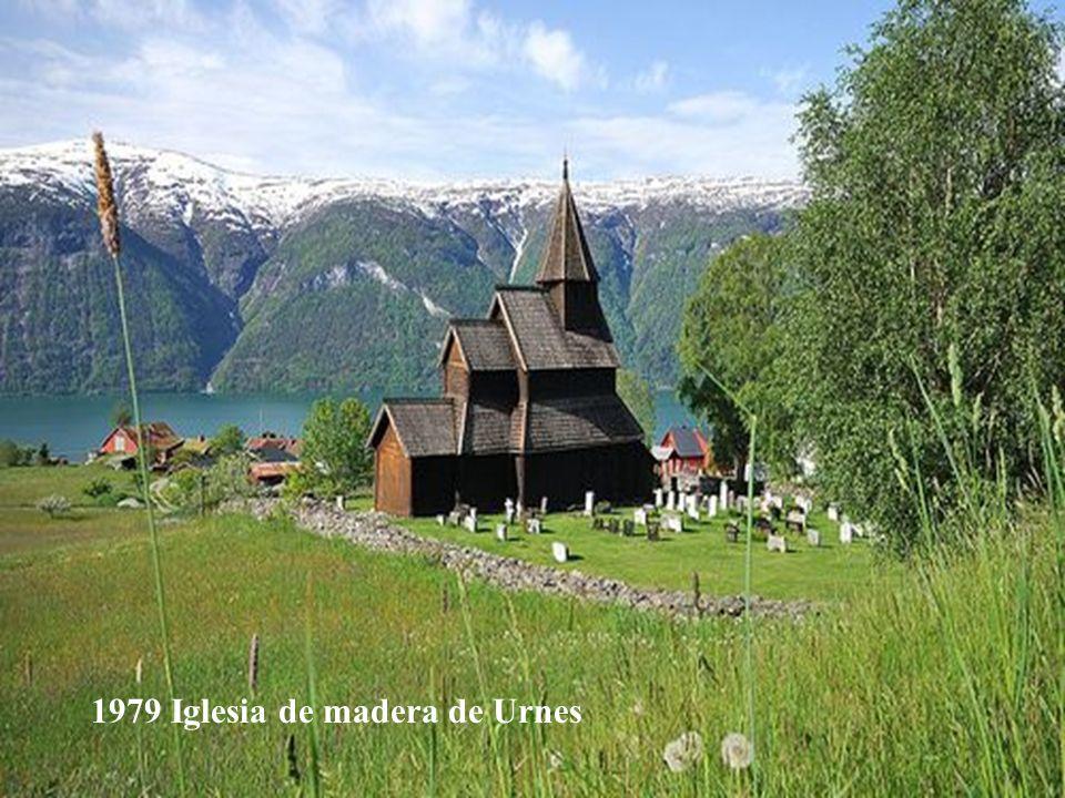 1979 Iglesia de madera de Urnes