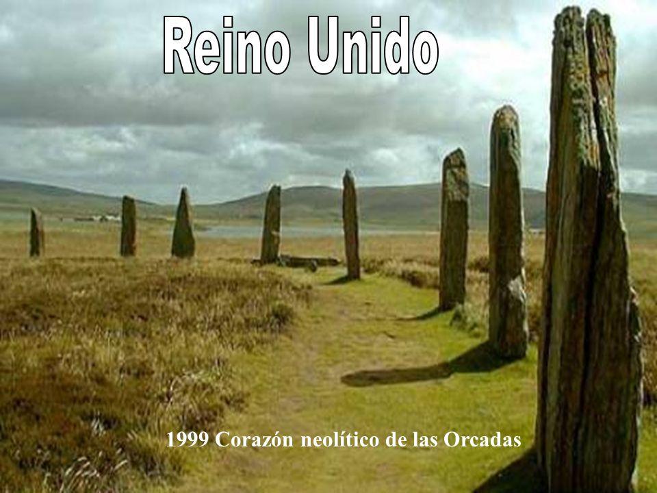 Reino Unido 1999 Corazón neolítico de las Orcadas