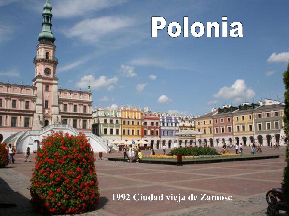 Polonia 1992 Ciudad vieja de Zamosc