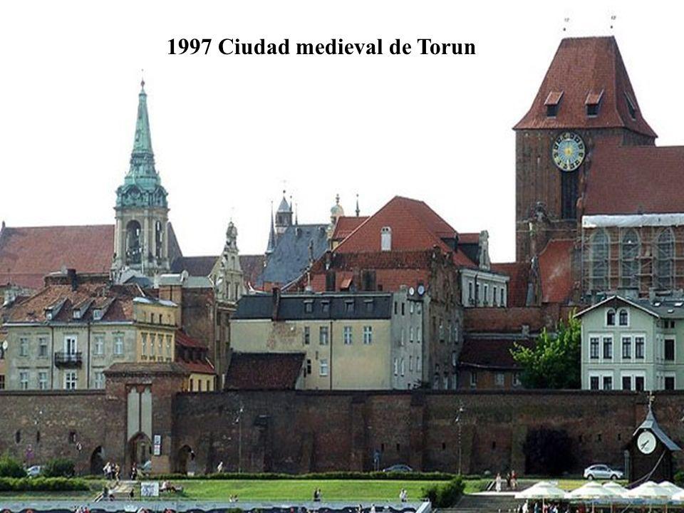 1997 Ciudad medieval de Torun