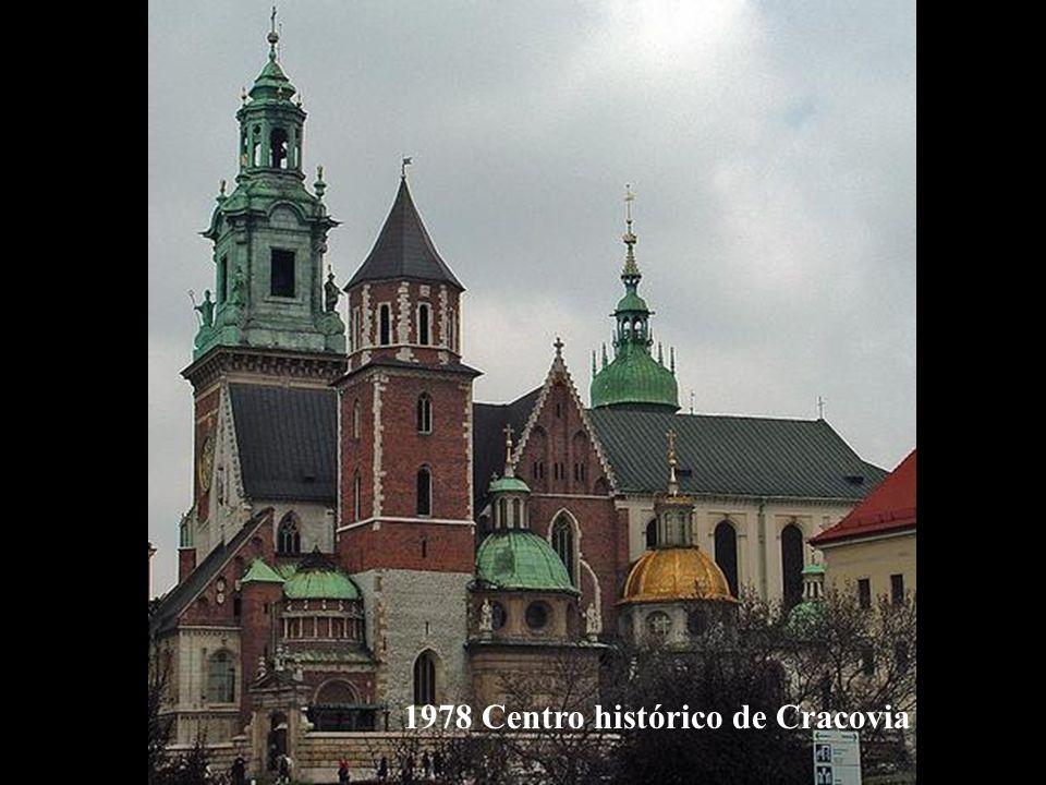 1978 Centro histórico de Cracovia