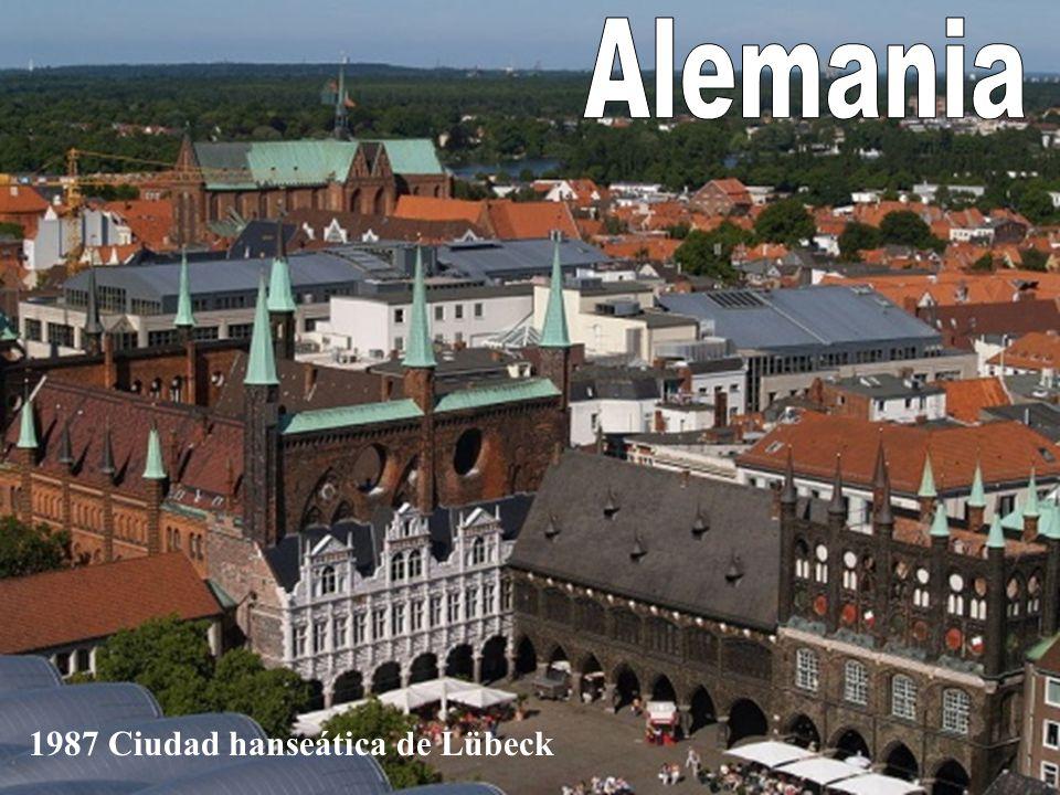 Alemania 1987 Ciudad hanseática de Lübeck