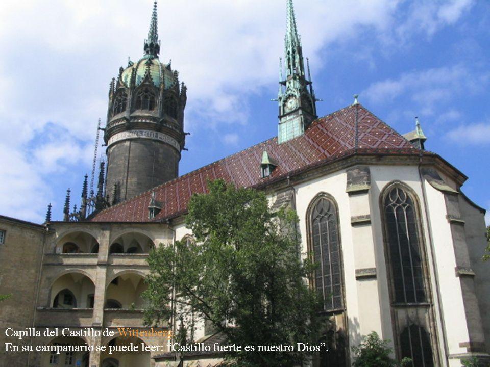 Capilla del Castillo de Wittenberg