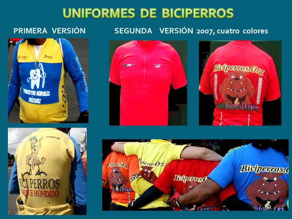 UNIFORMES DE BICIPERROS