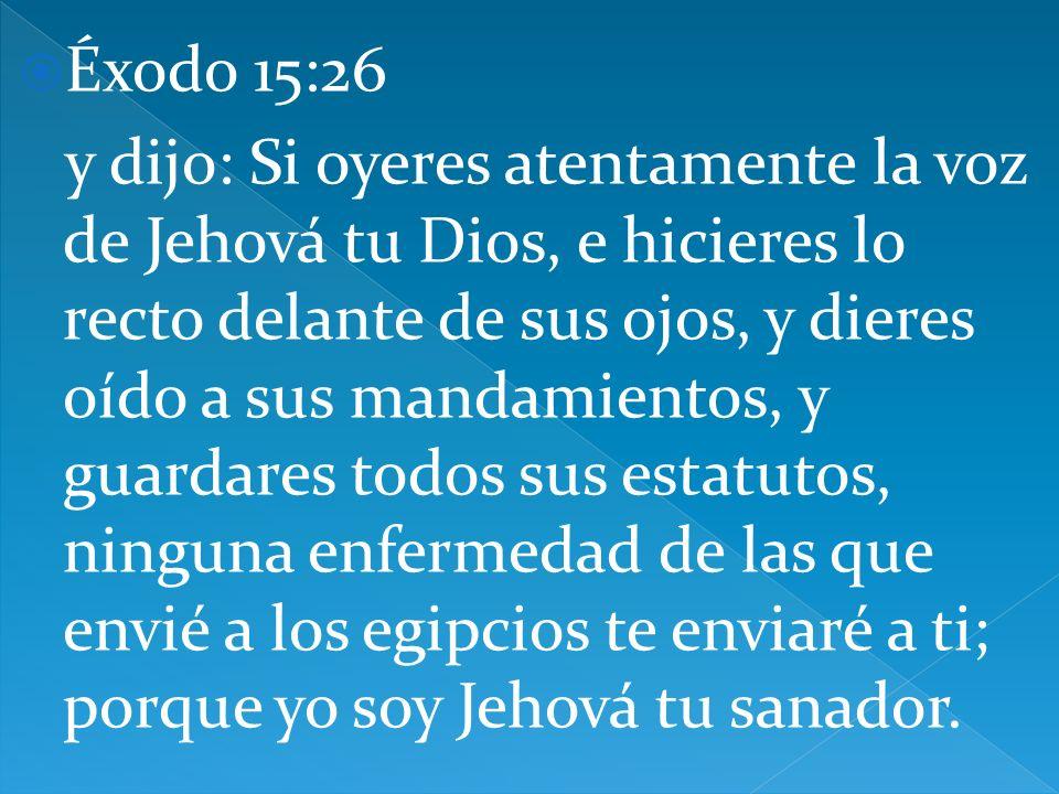 Éxodo 15:26