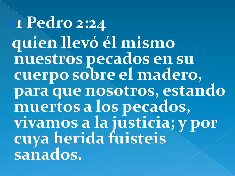 1 Pedro 2:24