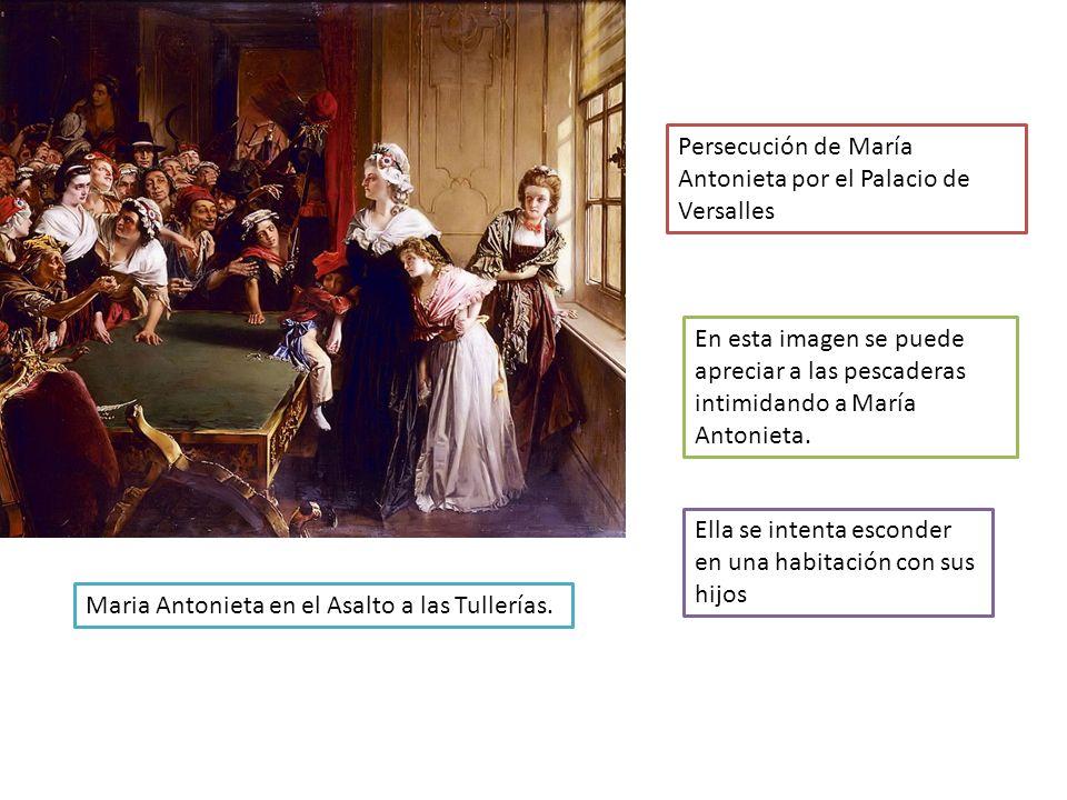 Persecución de María Antonieta por el Palacio de Versalles