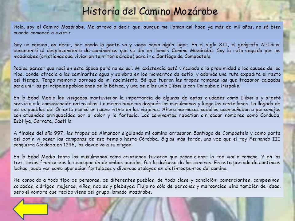 Historia del Camino Mozárabe
